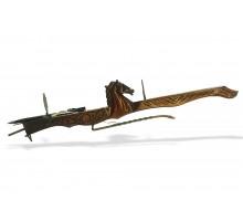 Арбалет XV в. 100 см. с лошадью