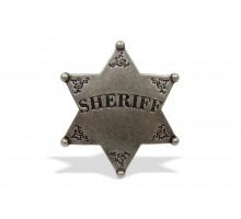 Значок Шерифа шестиконечный