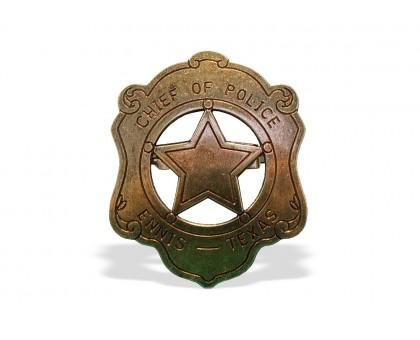 Значок шефа полиции
