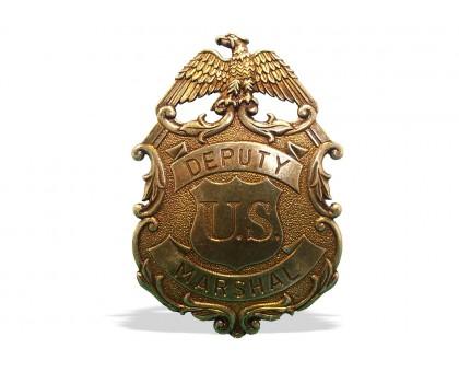 Значок маршала США с орлом латунь