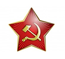 Автомат Советской Армии золотой