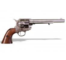 """Револьвер Кольт Миротворец 7½"""" дюймов блестящий 45 калибр 1873 год"""