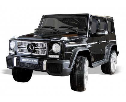 Детский электромобиль Мерседес Гелендваген G65 черный