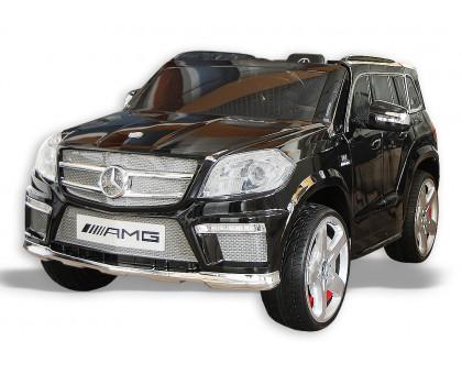 Электромобиль для детей с пультом управления Mercedes Benz GL63 AMG черный