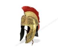 Шлем Преторианский с красным плюмажем