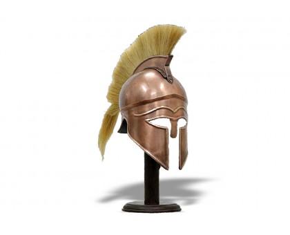 Шлем Троянский с плюмажем