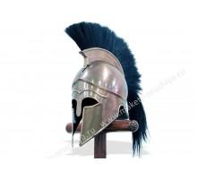 Шлем коринфский с черным плюмажем