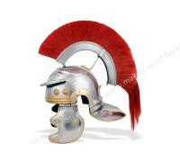 Шлем Центуриона с красным плюмажем