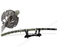Самурайский меч Тати/Тачи черные ножны