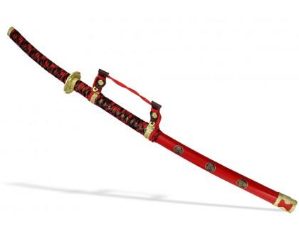 Самурайский меч Тати/Тачи красные ножны