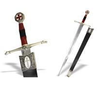 Меч крестоносца с ножнами