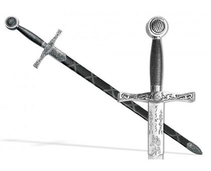 Меч Экскалибур Excalibur King Arthur's никель с ножнами