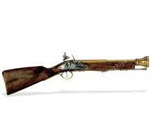 Мушкет пиратский 18 века латунь
