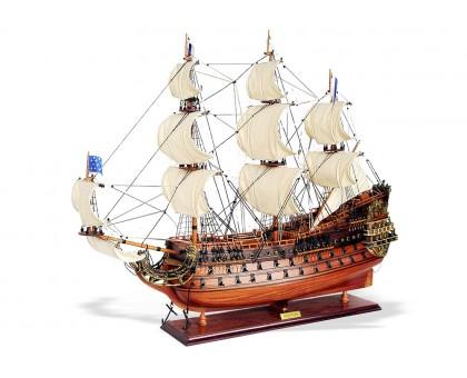 """Модель линейного корабля """"Солей Рояль"""" средний Франция"""