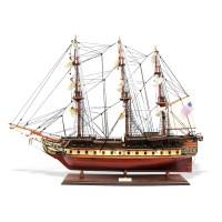 """Модель корабля """"USS Constitution"""" большой США"""