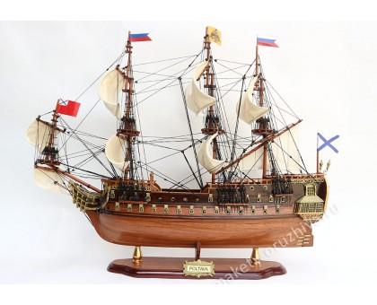 """Модель линейного корабля """"Полтава"""" средний Россия"""