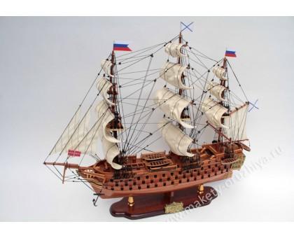 """Модель корабля """"12 Апостолов"""" средний Россия"""