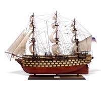 """Модель парусника """"USS Pennsylvania"""" США"""