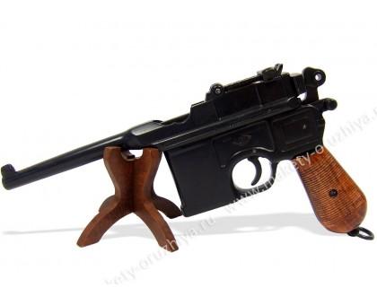 Пистолет Маузер лакированные накладки