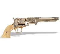 Револьвер Кольт морского флота 1851 под слоновую кость