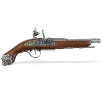 Пистоль кремневый 18 в. классический