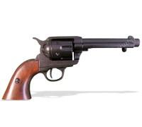 """Револьвер Кольт Миротворец 5½"""" дюймов черный ствол 45 калибр 1873 год"""