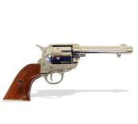 """Револьвер Кольт Миротворец 5½"""" дюймов блестящий ствол 45 калибр 1873 год"""