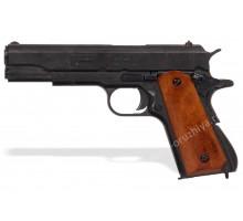 Пистолет Кольт м1911а1 45 калибра (Colt m1911a1) деревянные накладки разборный