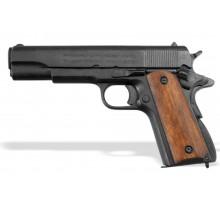 Пистолет Кольт 1911 45 калибра деревянные накладки