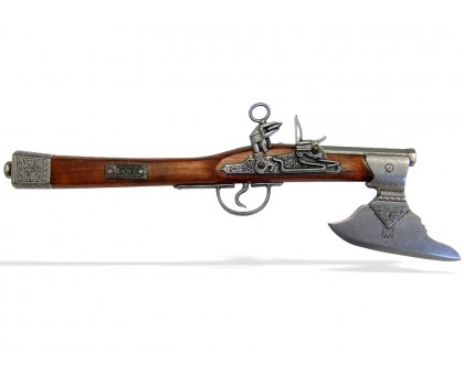 Пистолет-топор кремневый Германия 17 в.