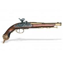 Перкуссионный пистолет Brescia 1825 г. латунь
