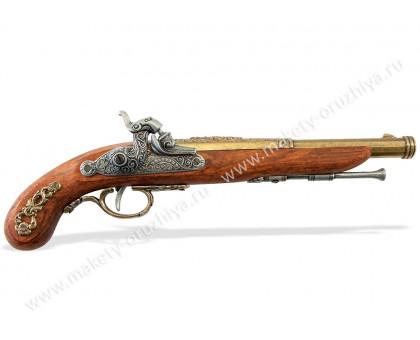 Пистолет капсульный Франция 1832 г. латунь