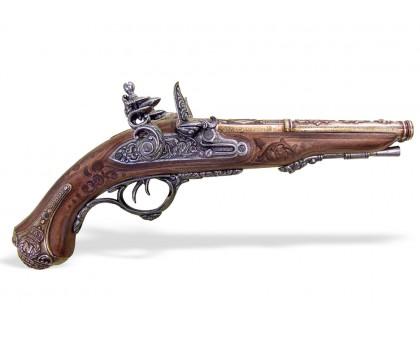 Пистоль кремневый двуствольный для Наполеона 1806 год
