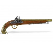 Пистолет кремниевый Германия 18 в.