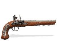 Пистоль дуэльный кремневый Бутэ Франция 1810 г.