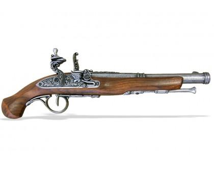 Пистоль кремниевый 18 в. классический