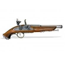 Пистолет кремниевый пиратский 18 в.