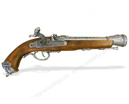 Пистолет капсюльный пиратский Италия 18 в.