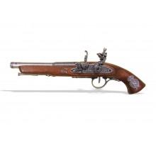 Пистолет кремневый для левшей