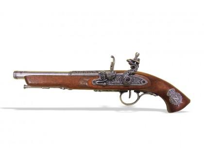 Пистолет кремневый для левшей Франция XVIII в