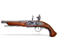 Пистолет кремневый под левую руку 18 в.