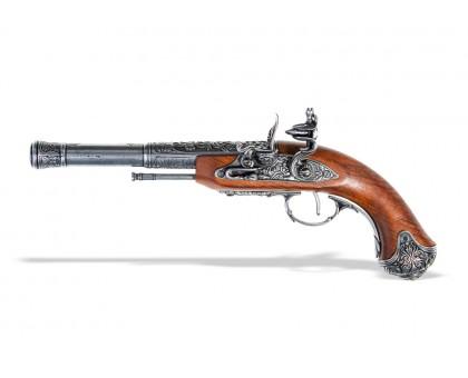 Пистолет кремневый под левую руку Индия