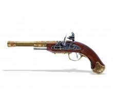 Пистолет кремневый под левую руку Индия золотой