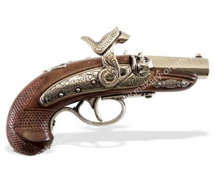 Пистолет Деринджер Филадельфия США 1862 г. капсюльный