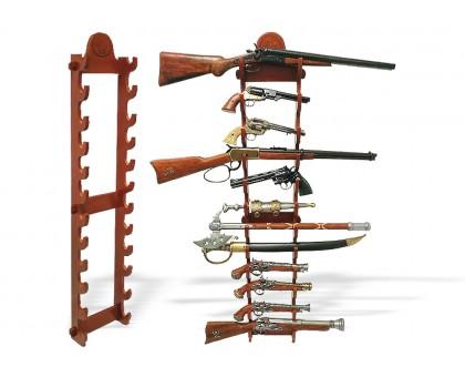 Стенд под оружие настенный на 12 единиц