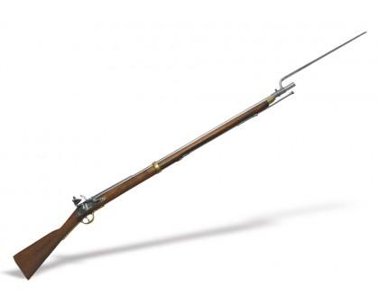 Кремневое ружье Браун Бесс (Brown Bess musket)
