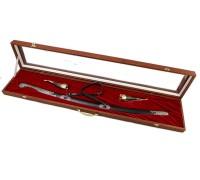 Подарочный набор: шашка, 2 рога для вина